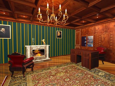 Я рекомендовал бы дизайн интерьера в викторианском стиле , для больших...