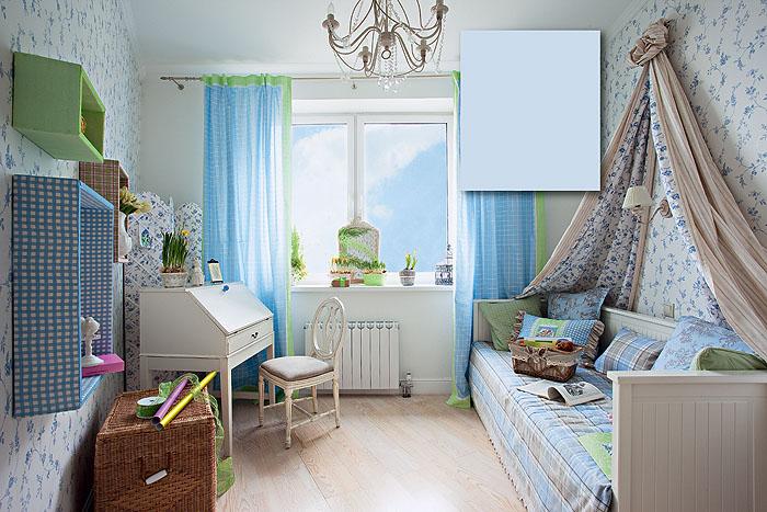 Обустройство маленькой комнаты