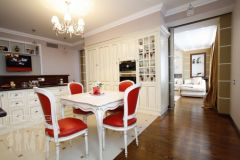 Квартира в стиле арт-нуво.  Кухня.
